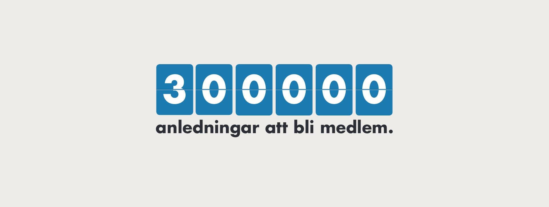 300 000 anledningar att bli medlem i Psoriasisförbundet
