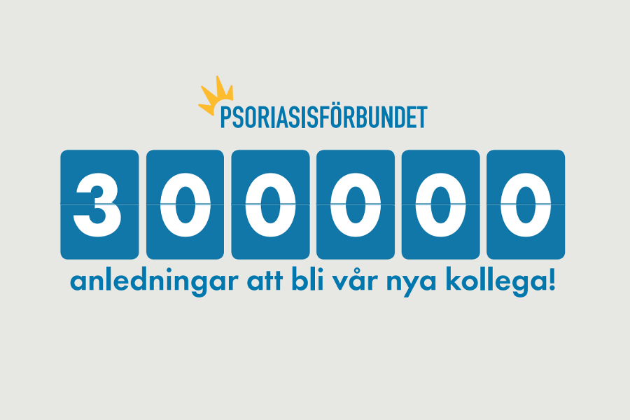 300 000 anledningar att bli vår kollega