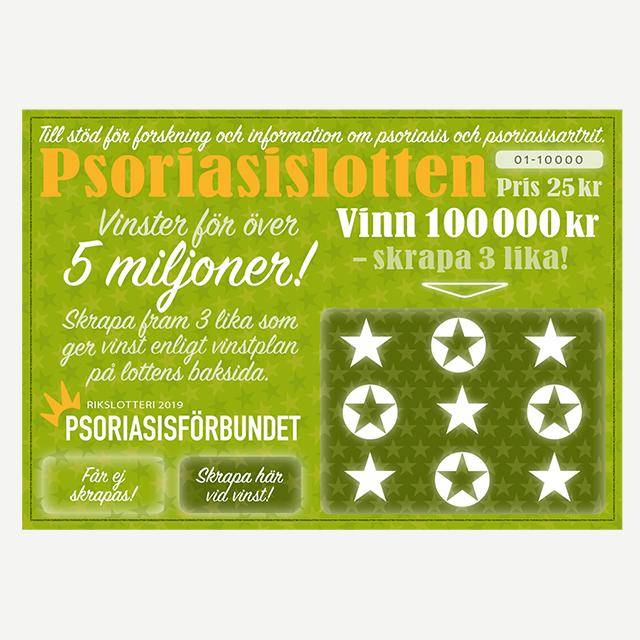Psoriasislotten 2019